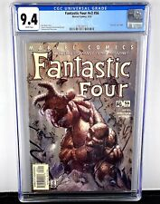 Fantastic Four v3 #56 CGC 9.4! Legacy #485! Rare Dell'otto The Thing Cover! HTF!
