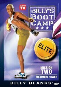 Billy Blanks Tae Bo BootCamp Elite Mission 2 Maximum Power DVD