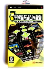 Midway Arcade Treasures Extended Play PSP Playstation Nuevo Precintado Sealed