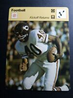 "1979 SPORTSCASTER GALE SAYERS CHICAGO BEARS 4.75X6.25"" KICKOFF RETURNS #46-13"