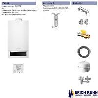Buderus Logamax plus GB172 Komplettpaket 14 kW DO Abgassystem und Regelung