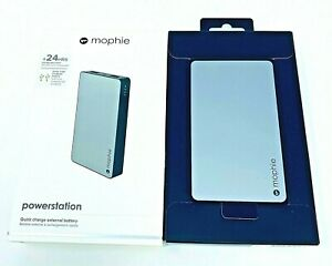 Mophie Powerstation Quick Charge External Battery Dual USB Ports 2.1 Amp +24 HRS