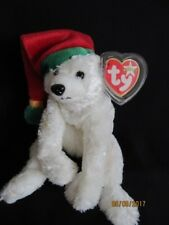 TY BEANIE BABY SNOWDRIFT POLAR BEAR - MINT - RETIRED