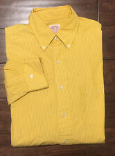 Brooks Brothers Button Down Polo Dress Shirt Men's Size 15 1/2 -4