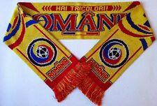 ROMANIA Football Scarve NEW from Superior Acrylic Yarns