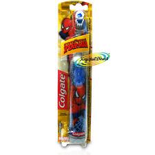 Colgate araña sentido Spiderman Marvel Con Pilas Extra Suave Cepillo de dientes