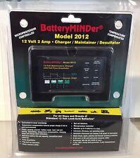 Batteryminder 2012 Charger Maintainer Desulfator 12 Volt 2 Amp - Brand New
