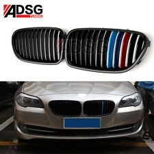 For BMW 5 Series F10 M Color Glossy Black Front Grille Grill M5 520i 525i 528i