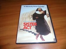 Sister Act (DVD, Widescreen 2001) Whoopi Goldberg Used