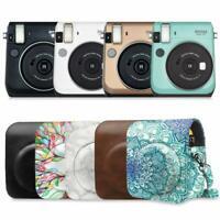 Fujifilm Instax Mini 70 Instant Film Camera Leather Protective Bag Case Cover