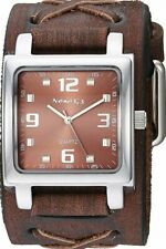 NEMESIS Lite SQ Watch with Faded X  Leather Cuff