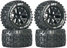 NEW Duratrax Lockup MT Tires Wheels (4) 4WD Stampede Savage XS Flux F/ R
