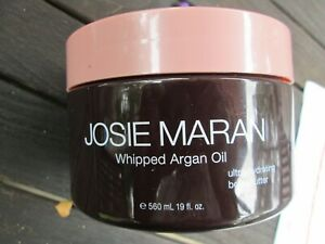 SEALED Josie Maran Whipped Argan Body Butter VANILLA APRICOT 19oz FREE SHIP (DR)