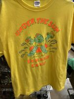 Under The Sun Summer Camp SIZE  LARGE TSHIRT