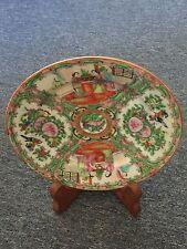 Lod China Plate Antique 广彩瓷