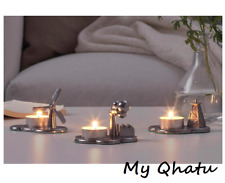 Ikea PS 2017 TEA LIGHT CANDLE HOLDER Metal Set of Three