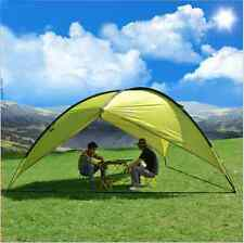 New Outdoor Shade Shelter Beach Canopy Camping Hiking Portable Picnic Tent Green