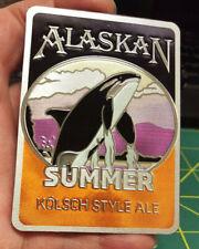 Alaska Magnet - Alaskan Summer Kolsch Style Ale Magnet - Foil style Orca magnet