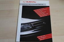 87689) Subaru - Legacy - Libero - Justy Prospekt 1991