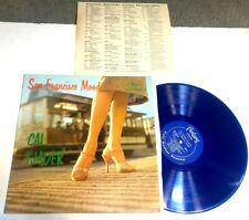 San Francisco Moods by Cal Tjader LP STEREO BLUE VINYL w INSERT latin jazz VG