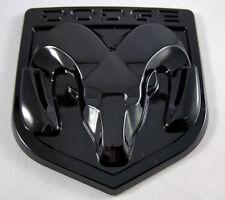 New Dodge Ram 1500 2500 3500 Blacked Out Emblem Mopar Medallion Tailgate Badge
