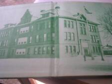 1960 Chippewa Glidden High School Glidden Wisconsin Yearbook WI