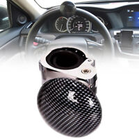 Universal Carbon Fiber Car Steering Wheel Power Handle grip Knob Power ball