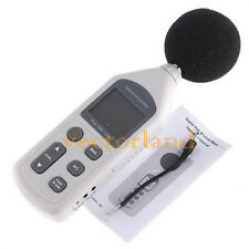 Digital Sound Level Noise Meter Decibel Monitor 30-130DB Pressure Noise Tester