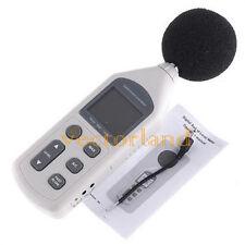 LCD Digital Mini Audio Sound Level Meter Decibel Monitor Pressure Noise Tester