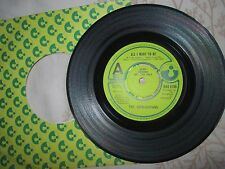The Broughtons All I Want To Be Harvest HAR 5199  PROMO 7inch Vinyl 45 Single