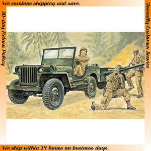 Italeri 1/35 WWII US Willys MB Jeep