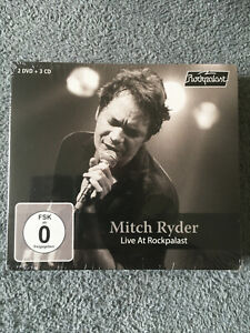 MITCH RYDER Live At Rockpalast 3x CD + 2x DVD Box MIG Rock & Roll R&B Blues SOUL