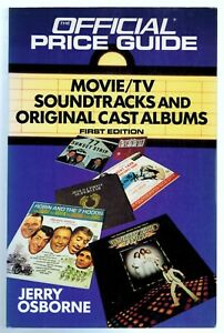 MOVIE / TV / Soundtrack LPs - Price Guide - Jerry Osborne - 1991 - 664 Pages