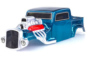 HSP 1/10 Hot Rod Painted Blue Body Shell
