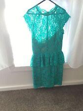 Lace Peplum Formal Dresses for Women