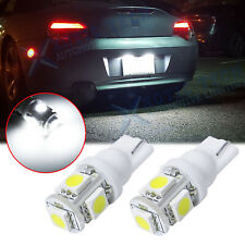 LED License Plate Light Bulb Lamp 168 194 2825 2821 T10 Xenon White 6000K Bright