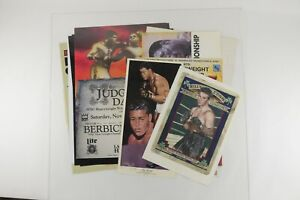 Lot of 13 Boxing Promo Fight Posters Holyfield Foreman Louis