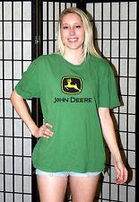 John Deere tractors corporate t shirt - Green - Men's Extra Large