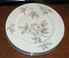 4 Am Hostess Ancestral Spring Glory Dinner plates + 2 Bread Plates EXC!