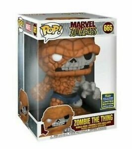 "EXCLUSIVE MARVEL ZOMBIES - ZOMBIE THE THING 10"" POP VINYL FIGURE FUNKO 665"