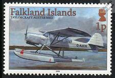 TAYLORCRAFT AUSTER MK5 Aircraft Airplane Seaplane Mint Stamp (Falkland Islands)