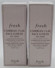 2PK.FRESH UMBRIAN CLAY FACE LOTION 1.7 OZ SEE DETAILS!