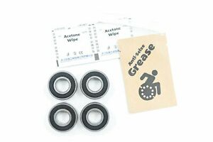 "Rear Wheel and Fork Wheelchair Bearings 99502H ABEC 5 1-3/8"" x 5/8"" x .4331"" (4-"