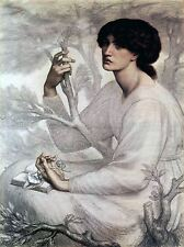 DANTE GABRIEL ROSSETTI DAYDREAM OLD MASTER ART PAINTING PRINT POSTER 661OMA