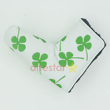New Shamrock Clover Golf Putter Club Cover Headcover for Scotty Cameron Ping