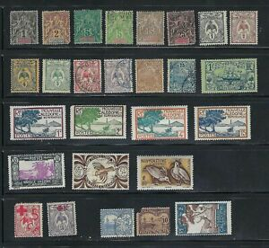 New Caledonia Lot, 1892 to 1948