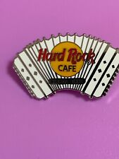 Hard Rock Cafe Pin ca 1998 Buenos Aires Silver And White Accordion #1429 Scarce!