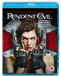 Resident Evil-Complete Collection -Br   [Region 2] (US IMPORT) Blu-Ray NEW