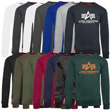 Alpha Industries Basic Sweater Herren Sweatshirt Freizeit Hoodie Pullover 178302