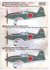 Print Scale Decals 1/72 MITSUBISHI J2M RAIDEN JACK Japanese WWII Fighter